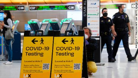 US considers Covid-19 testing requirement for domestic air travel