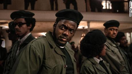 "Daniel Kaluuya stars as Black Panther leader Fred Hampton in ""Judas and the Black Messiah."""