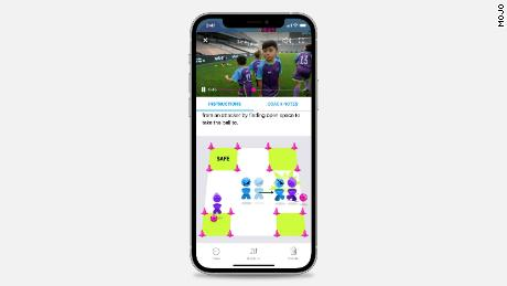 The new MOJO app helps make a coach's life easier