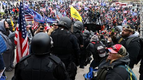 Oath Keepers founder directed Capitol rioters on January 6, Justice Department says
