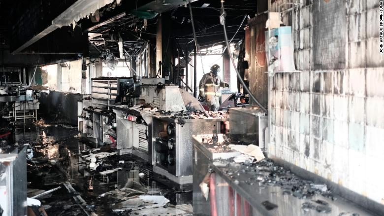 Catastrophic fire at Shaquille O'Neal's historic Atlanta Krispy Kreme ruled arson