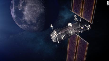 SpaceX just got a big contract to launch two pieces of a future Moon space station