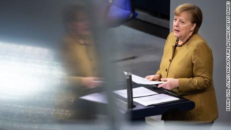 Germany's Merkel warns of third wave if lockdown is lifted too quickly