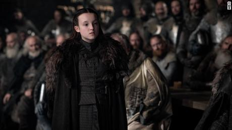 "Bella Ramsey as Lyanna Mormont in HBO'에스 ""Game of Thrones.&인용;"