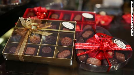 How chocolate fell in love with Valentine's Day