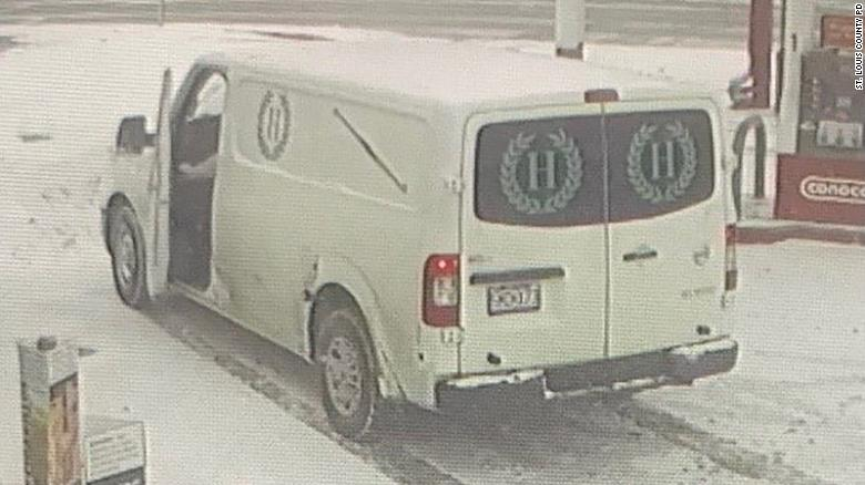A funeral home van with a body inside is stolen in Missouri