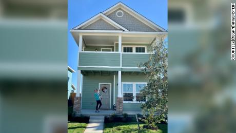 Megan Angerstein had to act quickly in order to buy her new construction home in San Marcos, Texas.