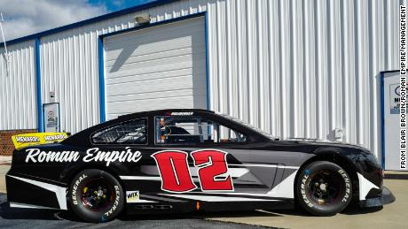 Young Motorsports' #02 Chevrolet SS that Briedinger will be driving on Saturday.