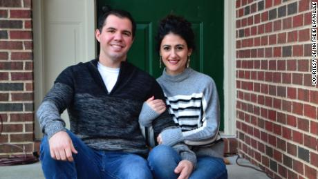 Kyle and Natalie LaVallee were outbid several times before purchasing their home in Fayetteville, North Carolina.