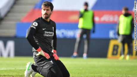 It was another calamitous performance from Liverpool's goalkeeper Alisson.