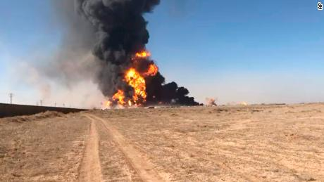 A fuel tanker exploded on February 13 at the Afghanistan-Iran border.