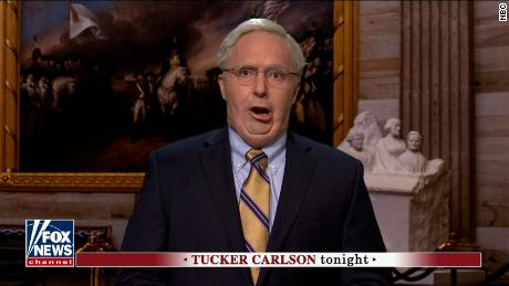 Beck Bennett as Sen. Mitch McConnell on an episode of 'Saturday Night Live'