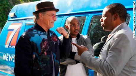 Don Johnson, Chris Redd and Kenan Thompson in NBC's 'Kenan' (Casey Durkin/NBC)
