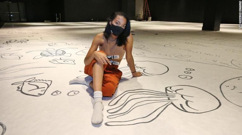 This is the biggest drawing in the world made by one person