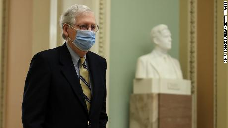 Mitch McConnell: 'I would encourage all Republican men' to get vaccinated