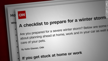 If a winter storm is coming your way, read this