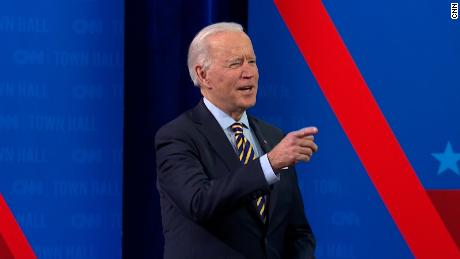 Biden asked when US will get back to normal. Hear his response
