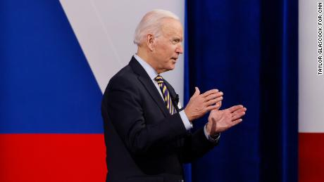 Biden says teachers should move up in priority to receive Covid-19 vaccine