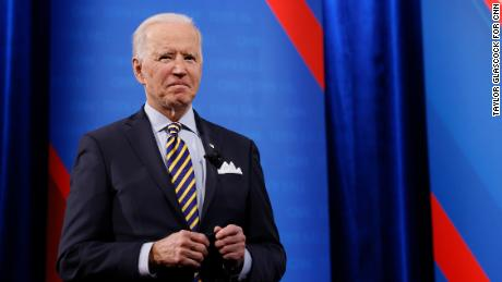 Biden says teachers should be on 'list of preferred' to get Covid-19 vaccination