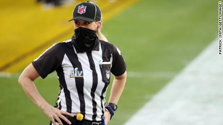 Having scaled the mountain as an NFL official, she'll be ready to go again next season.