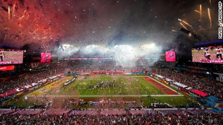The Tampa Bay Buccaneers defeated the Kansas City Chiefs in the NFL Super Bowl 55.