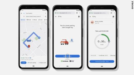 New features in Google Maps will let users pay for parking and public transit right from the app.