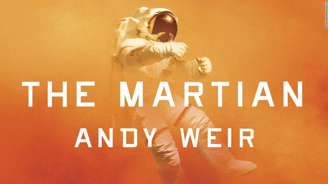 """火星人&qu报价movie was based on the 2011 book of the same name by Andy Weir."