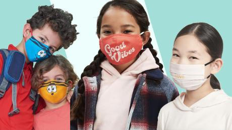 """From unicorns to """"Star Wars,"""" 21 face masks for kids"""