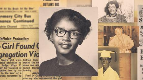 다시 초점을 맞춘 역사: This 15-year-old was the original Rosa Parks
