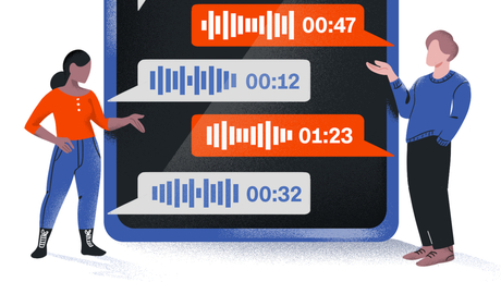 The hot new thing in tech: speaking into your phone