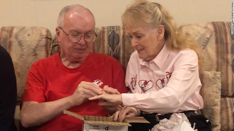 A woman who lost her wedding ring 50 years ago got it back on Valentine's Day