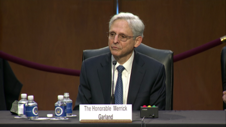 Merrick Garland was asked why he wants the job. See his emotional response