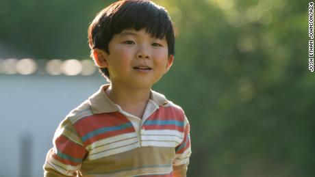 "Alan S. Kim stars as first-generation Korean American David Yi in ""Minari."""