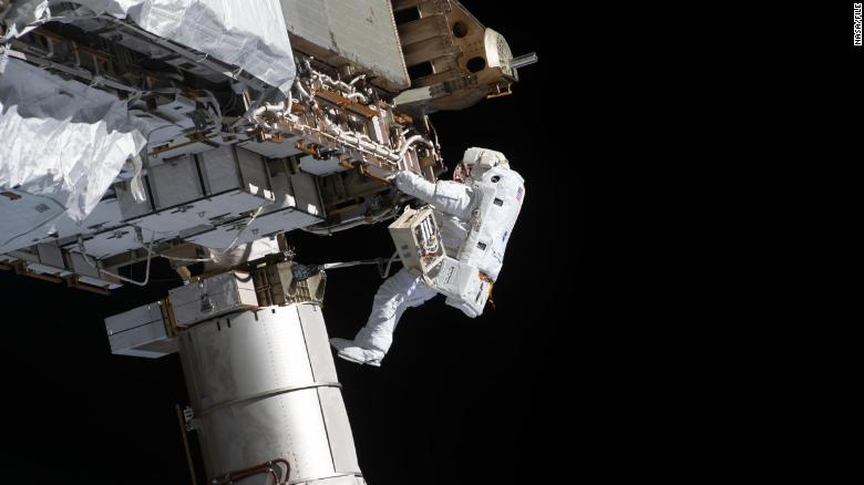 Astronauts will conduct a spacewalk this Sunday