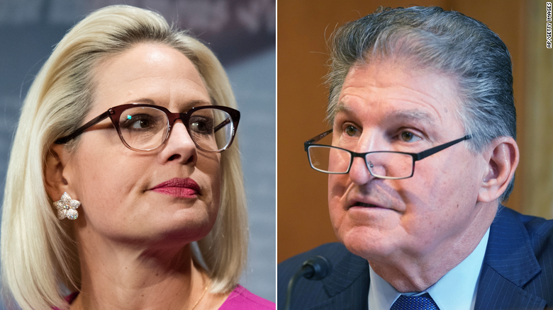 Miscalculating Sinema and Manchin could end up costing Biden