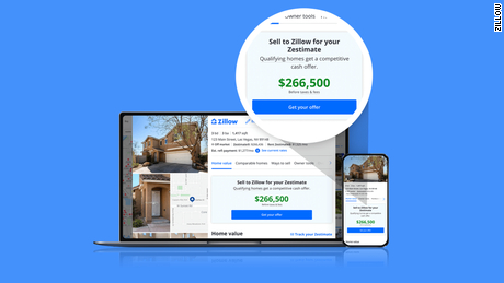 "Zillow's ""Zestimates"" will now represent initial cash offers to homeowners in some markets."