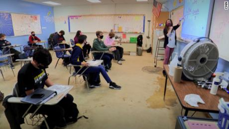 This Ohio school reduced spacing measures and is open to all, 5 days a week