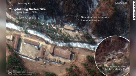 New satellite images reveal North Korea took recent steps to conceal nuclear weapons site