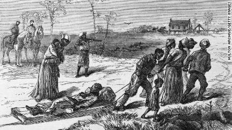 The Colfax Massacre of 1873, 그만큼 - The White League paramilitary group and the Ku Klux Klan killed over 100 Black militiamen who had gathered to protect their civil and voting rights. Violence continued for decades until poll taxes and other tactics effectively suppressed Radical Republican and Black voters.