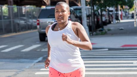 Alison Désir founded several running groups that seek to empower  women through fitness.