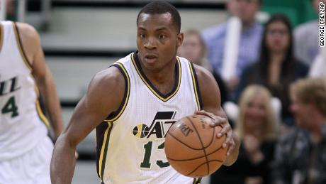 Elijah Millsap with the Jazz in 2015