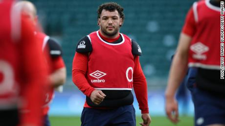 Ellis Genge came on as a second-half substitute in England's defeat by Wales.