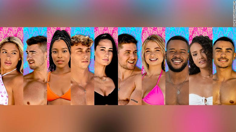 'Love Island South Africa' cast is announced -- 仅 3 黑人选手
