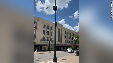 Some street lamps in San Antonio, Texas, are 4G and 5G capable