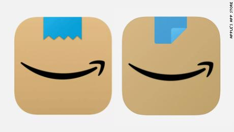 """The old """"new"""" icon is on the left, the update is on the right."""