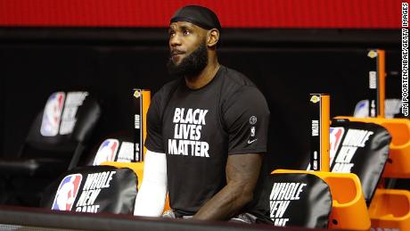 Like Ali, NBA star LeBron James has been outspoken on political and social issues.