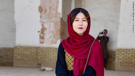 She's the first female tour guide in Afghanistan, but she's determined not to be the last