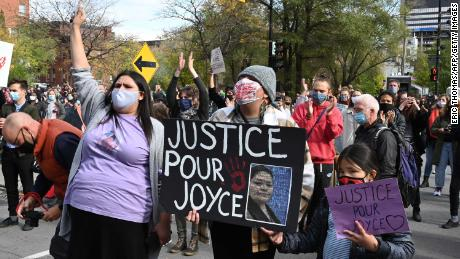 Canadian authorities said a public coroner's inquest would be launched into Echaquan's death.