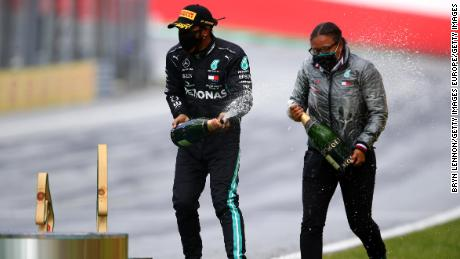 Stehanie Travers became the first Black woman in history to stand on an F1 podium.