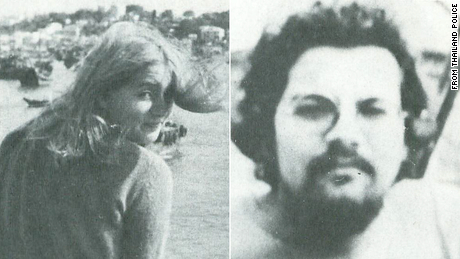 Cornelia Hemker (left) and Henricus Bintanja went missing in Thailand in 1975. Their bodies were found burned that year.
